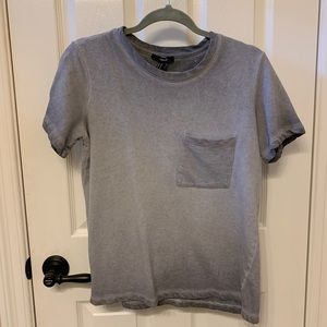 Faded grey T-shirt